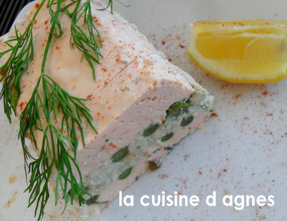 Terrine aux deux poissons for Fenetre 180x90