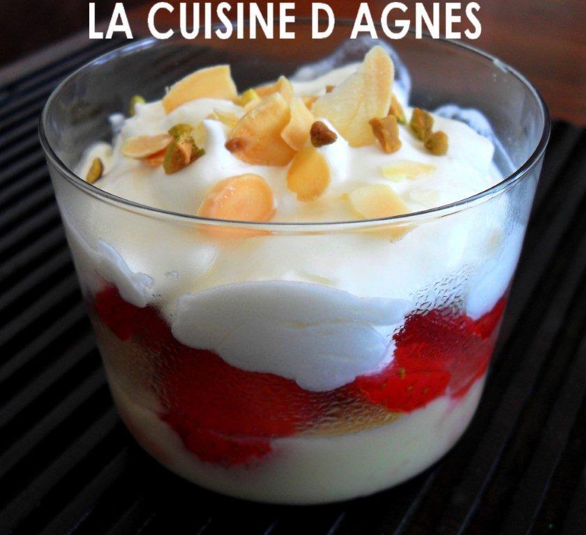 Verrines de fraises au mascarpone blogs de cuisine - Cuisine au mascarpone ...