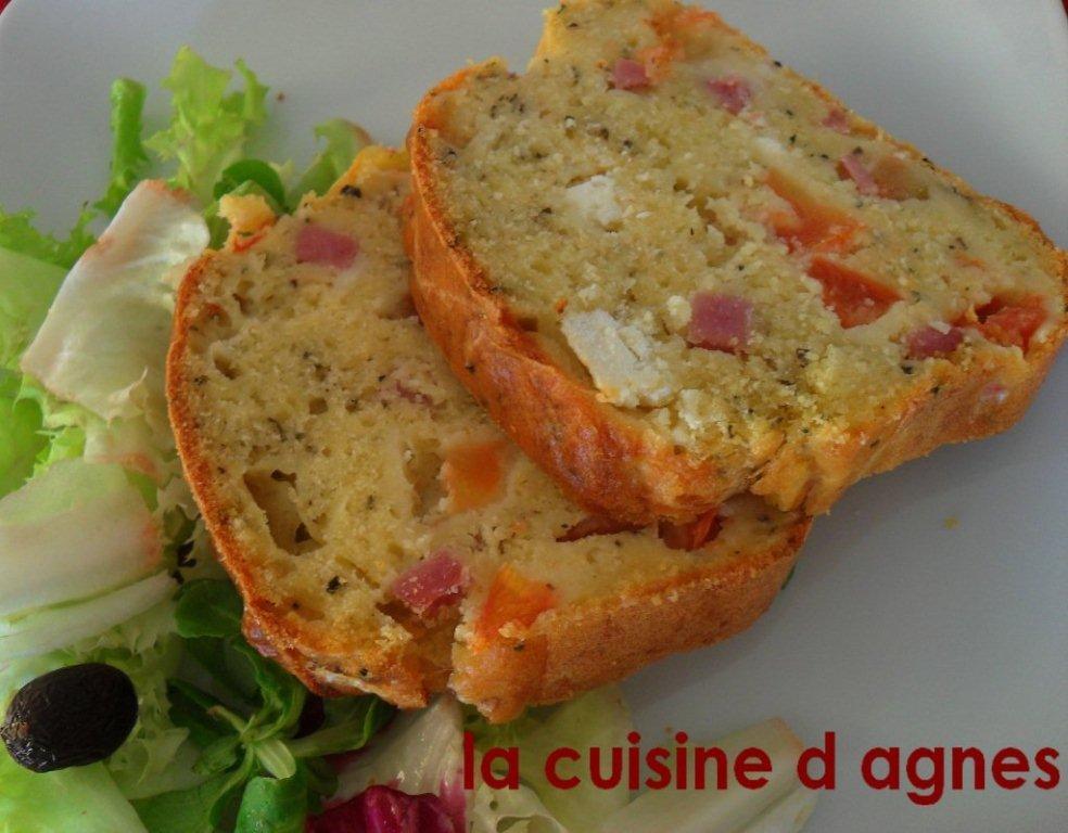 Cake Apero Facile Rapide Feta Tomate