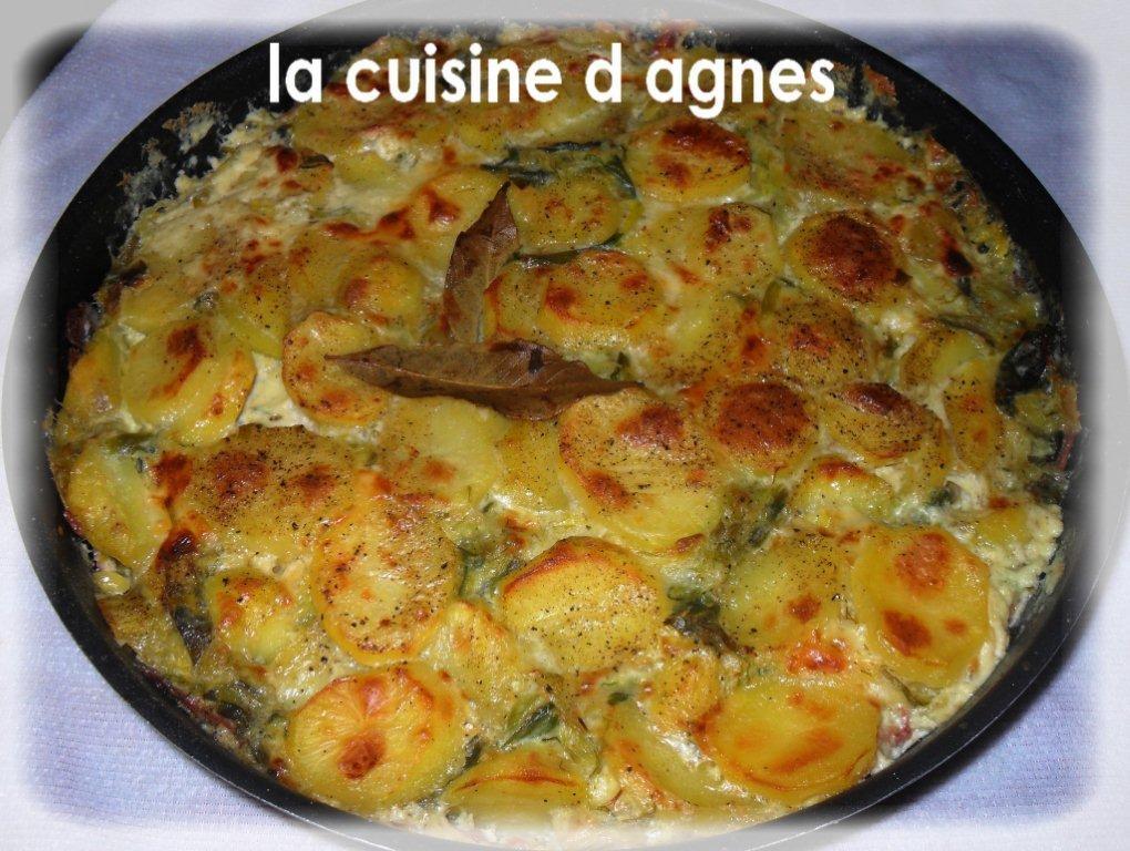 Gratin de pommes de terre poireaux raclette la cuisine d 39 agn sla cuisine d 39 agn s - Coupe fromage a raclette ...