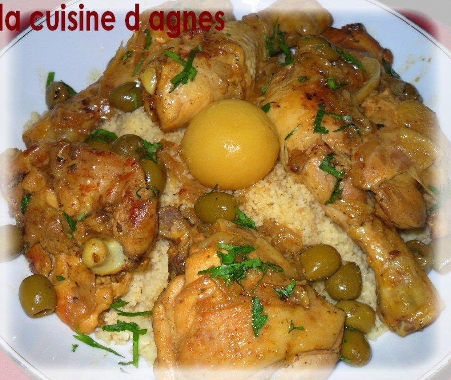 Tajine de poulet aux olives et au citron confit la - Cuisiner des blancs de poulet moelleux ...