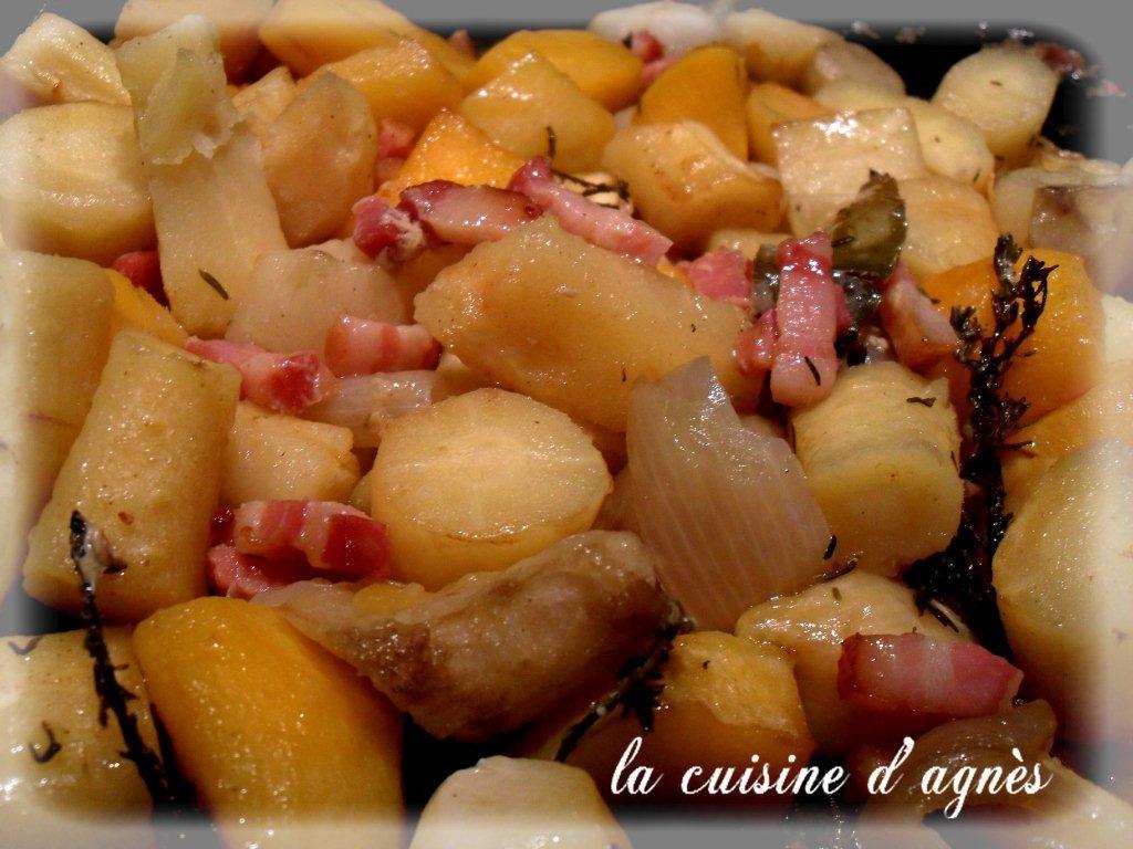 Cocotte de l gumes anciens la cuisine d 39 agn sla cuisine d 39 agn s - Recette de cuisine simple avec des legumes ...