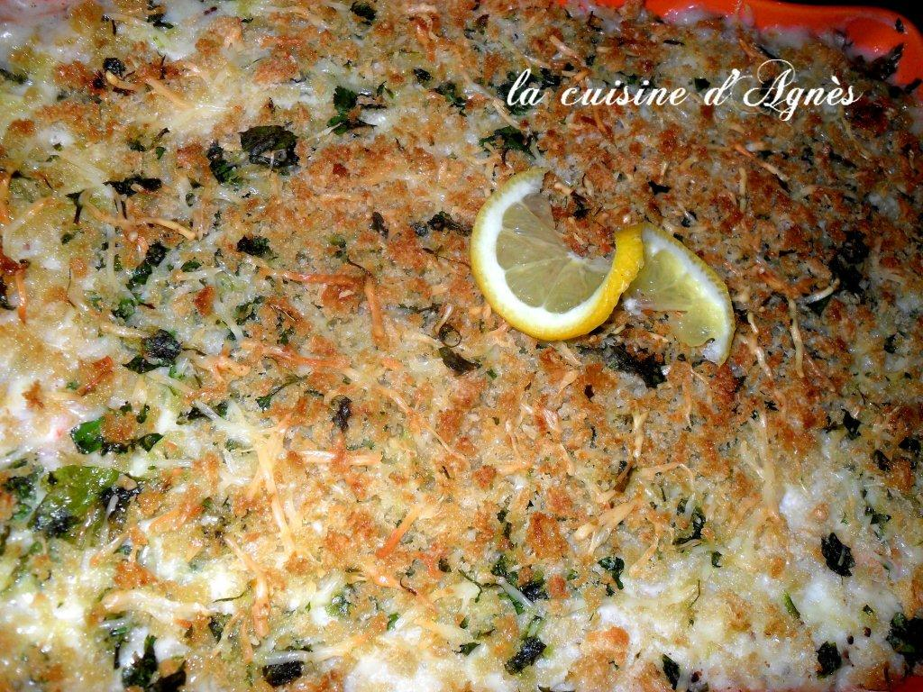 Gratin De Fruits De Mer Sauce Mornay La Cuisine D Agnesla Cuisine