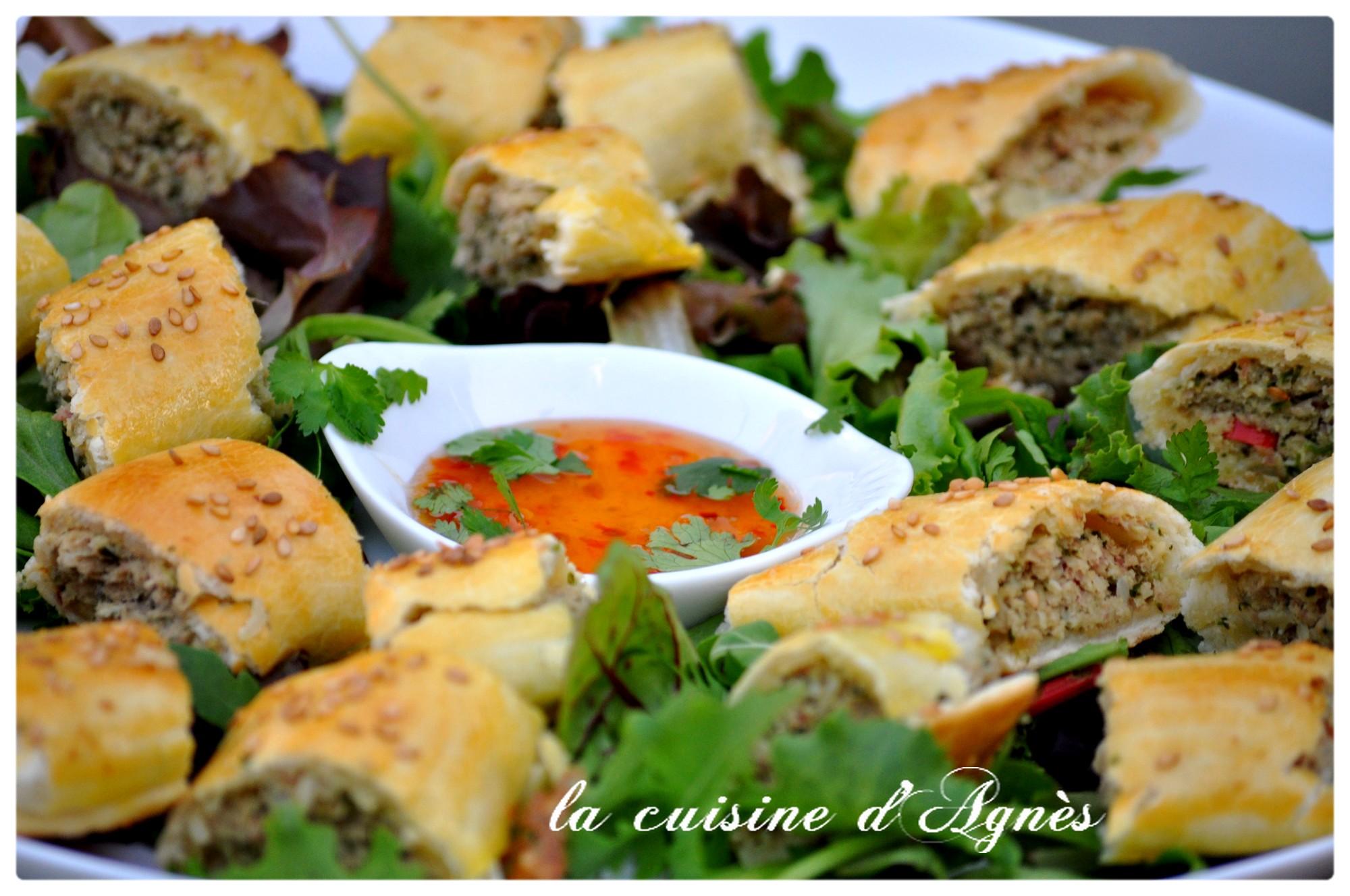Roul s de poulet la tha landaise blogs de cuisine - Recette cuisine thailandaise ...