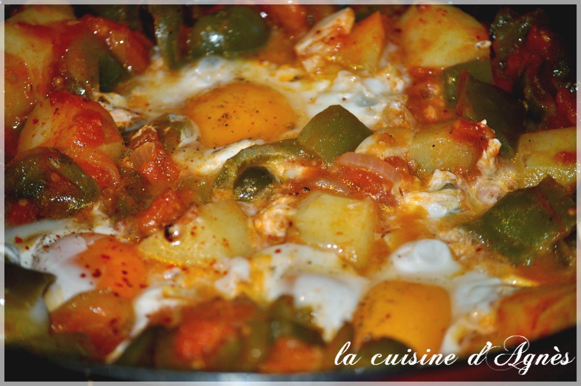Chakchouka la cuisine d 39 agn sla cuisine d 39 agn s for La cuisine