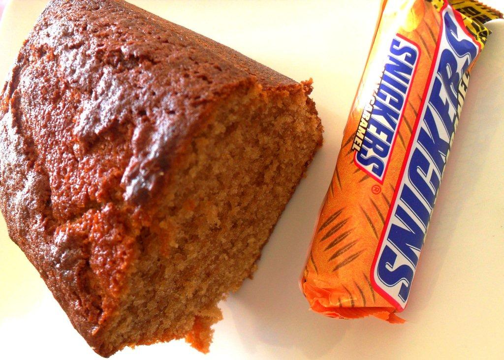 cake au snickers