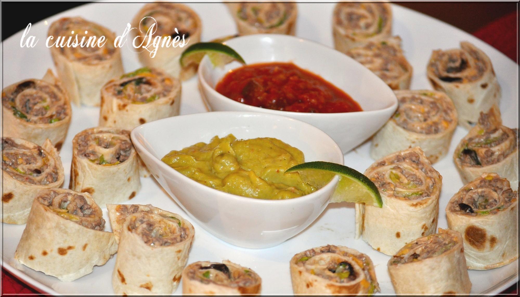 Roul s de tortilla la cuisine d 39 agn sla cuisine d 39 agn s - Sauce fromage pour tacos ...
