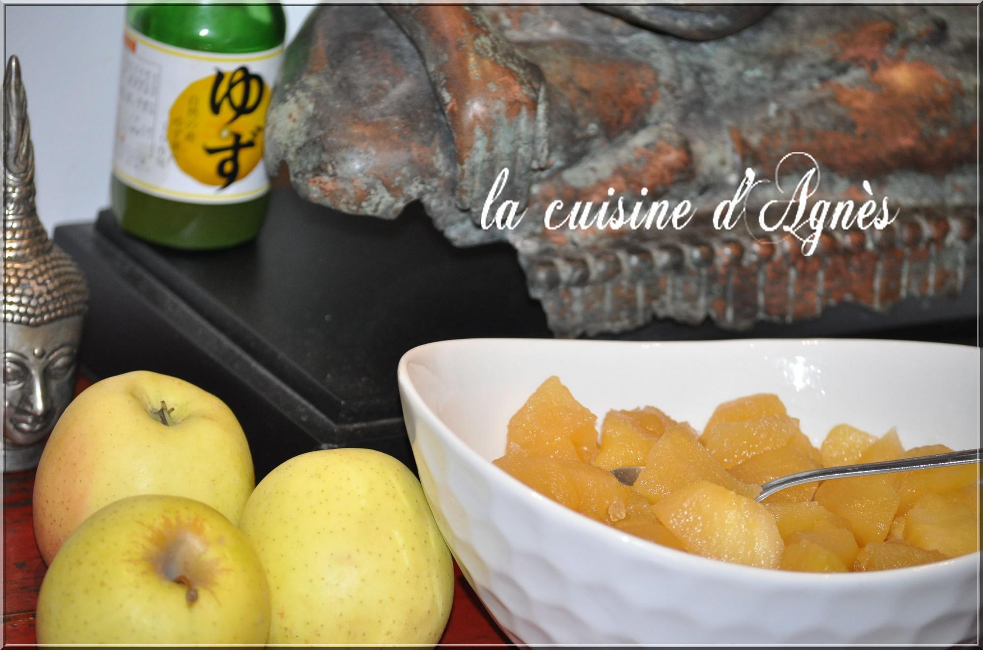 compote de pommes1