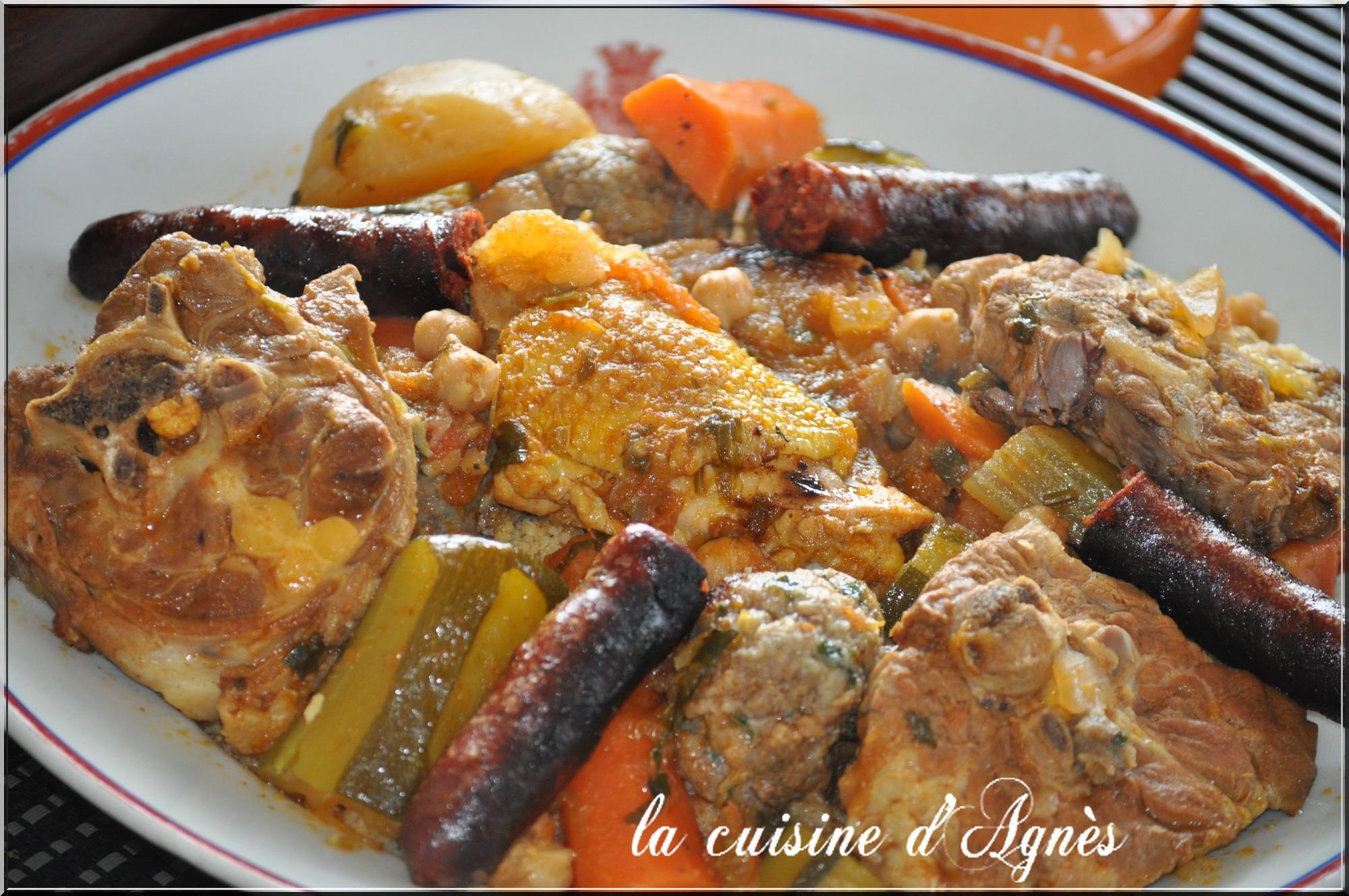 Couscous royal la cuisine d 39 agn sla cuisine d 39 agn s for La cuisine