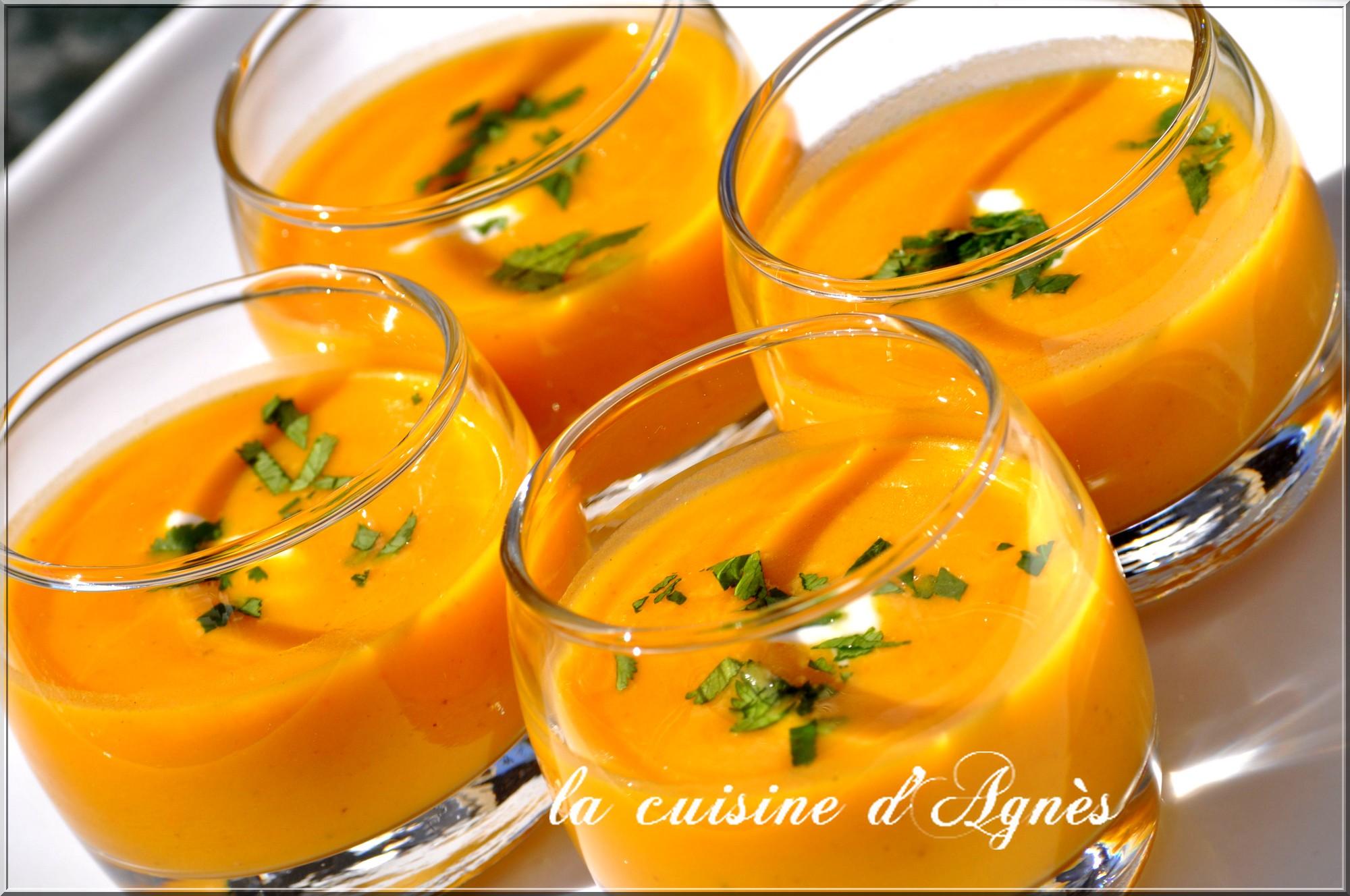 soupe épicée au potimarron 10