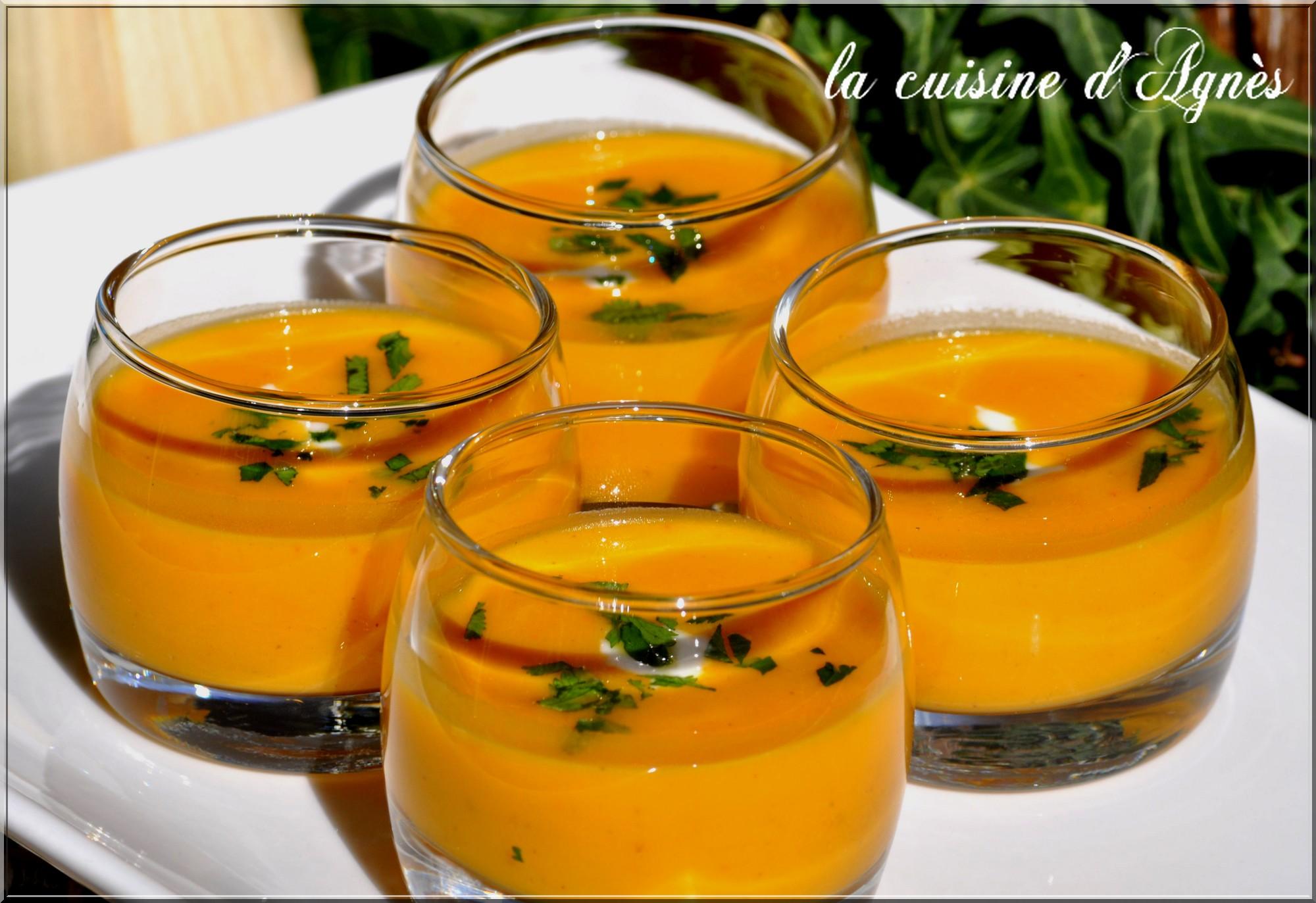 soupe épicée au potimarron 8