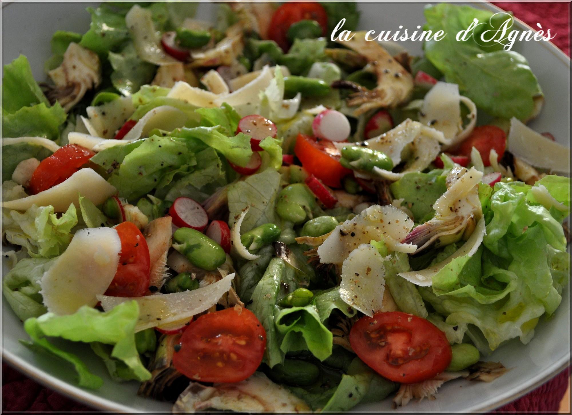salade croquante à la toscane