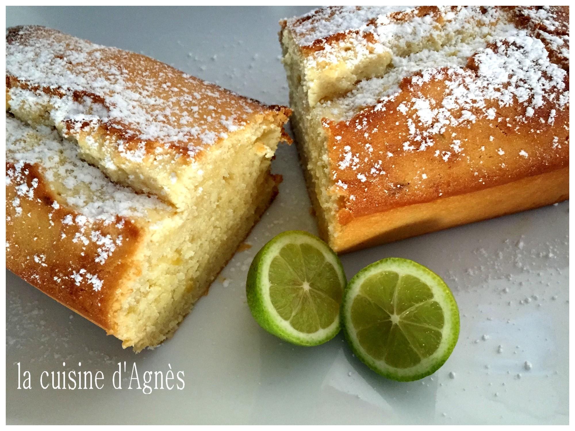 cake verveine citron