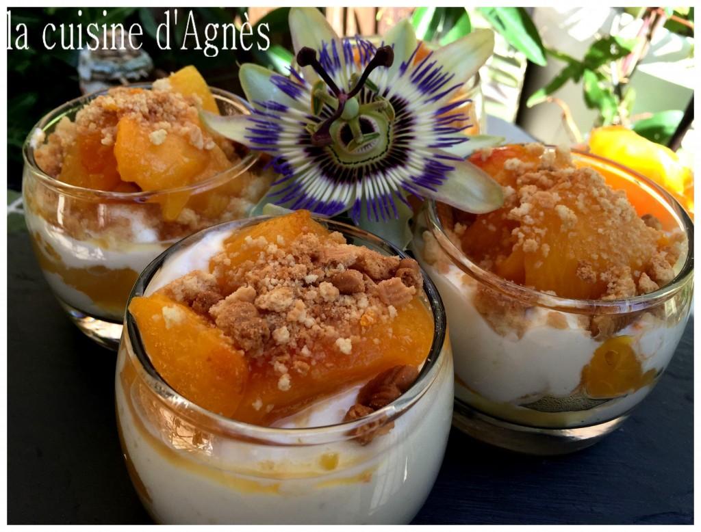 trifle aux prunes confites à la fleur d'oranger 2