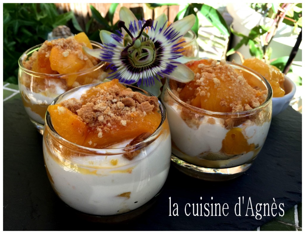trifle aux prunes confites à la fleur d'oranger 3