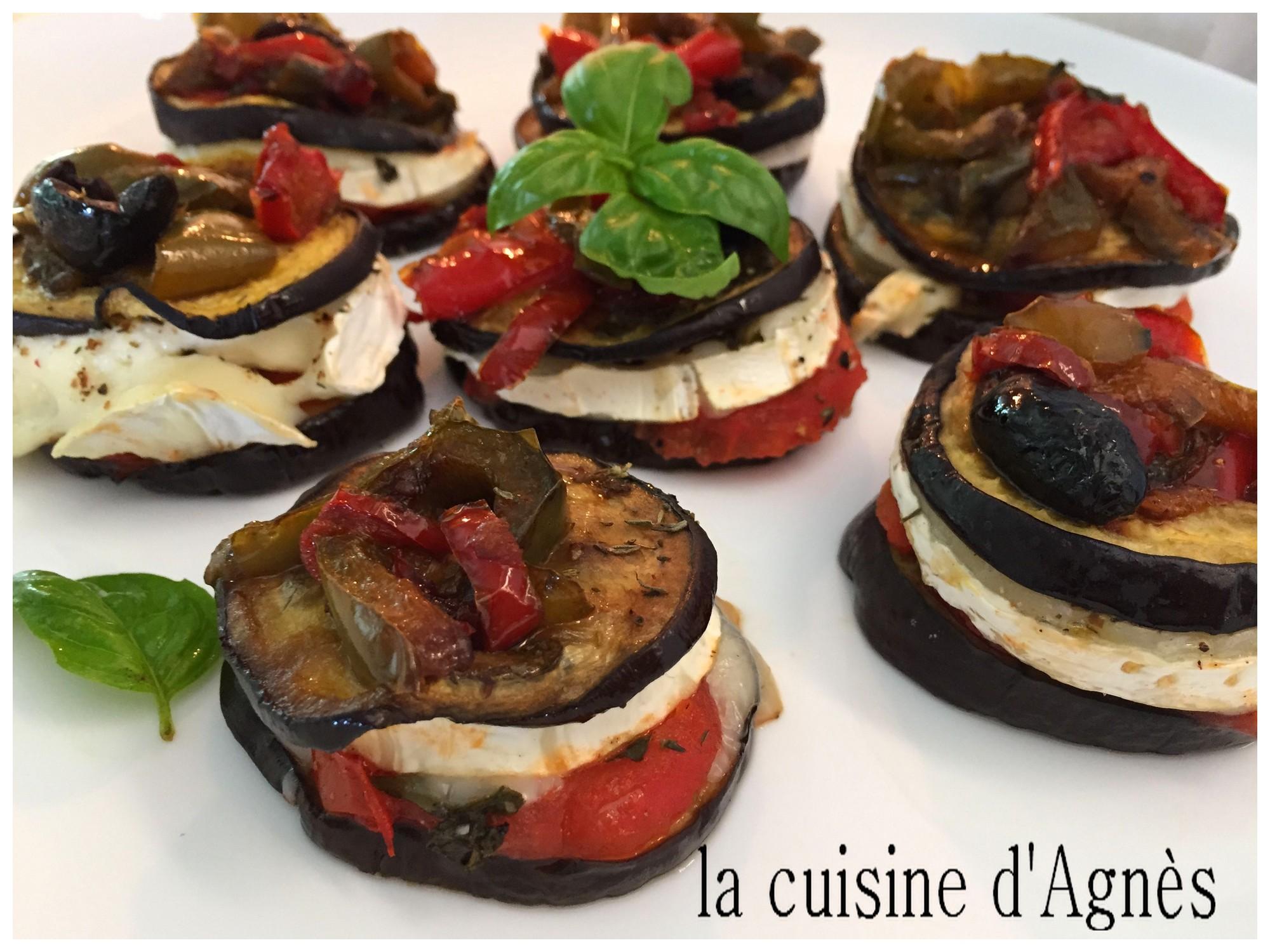Millefeuille Aubergine Chevre La Cuisine D Agnesla Cuisine D Agnes