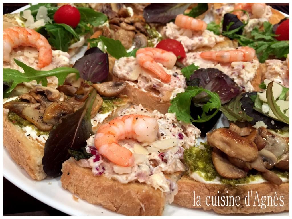 Plateau tv bruschetta la cuisine d 39 agn sla cuisine d 39 agn s for Cuisine 3 x 3