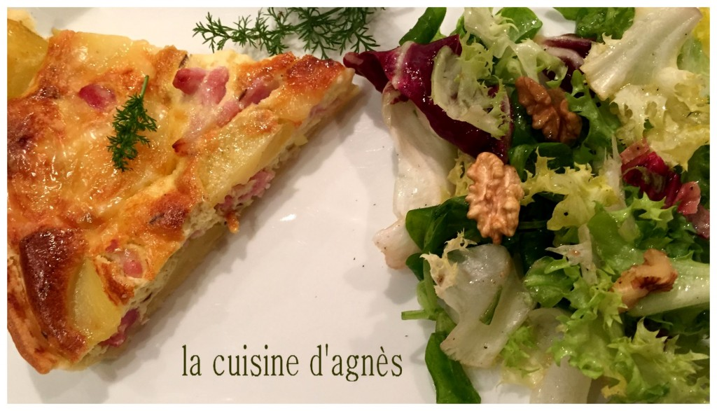 quiche au munster et au carvi 2