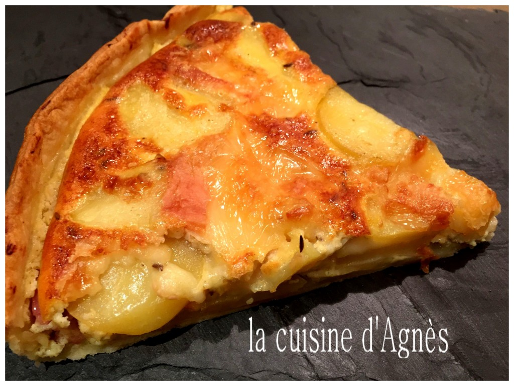 quiche au munster et au carvi 4