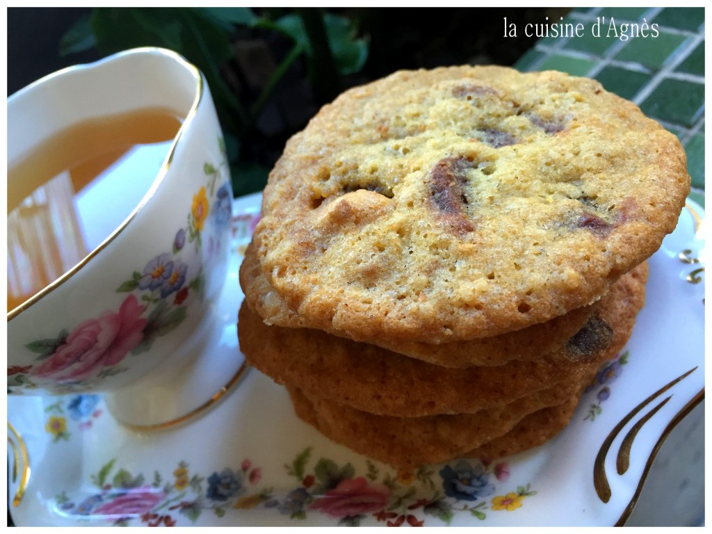 cookies choco noix nougat