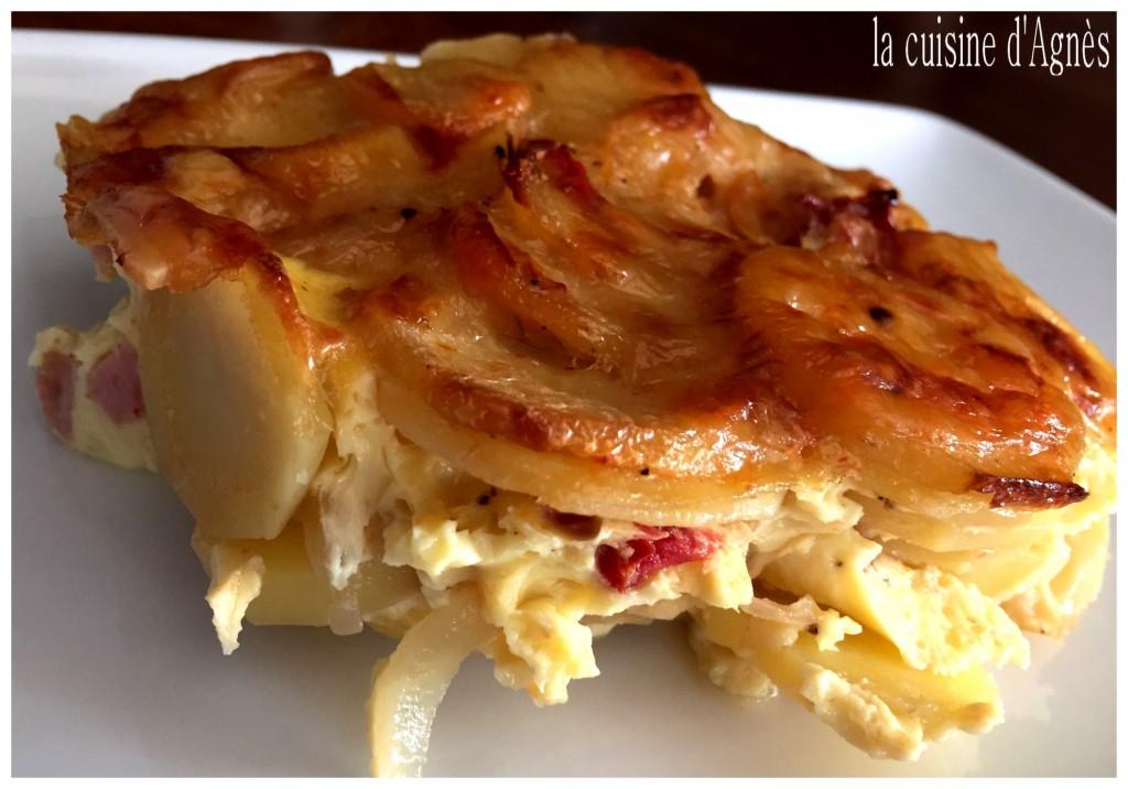 gratin de jambon la cancoillotte 4