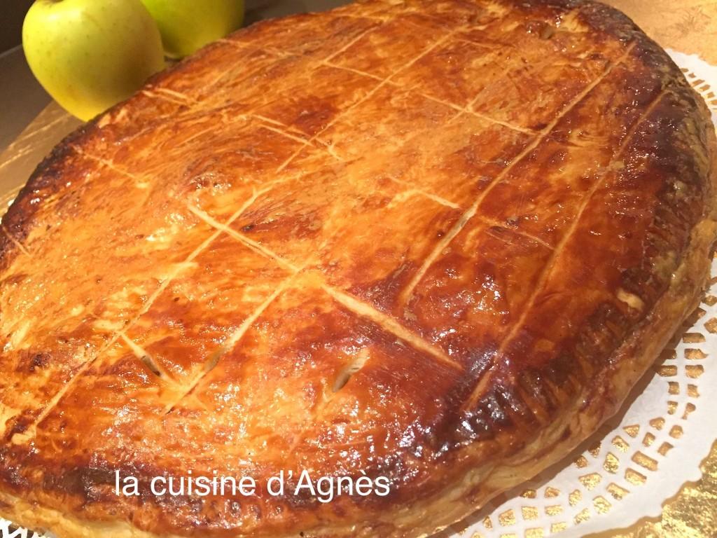 galette aux pommes vanillées 5