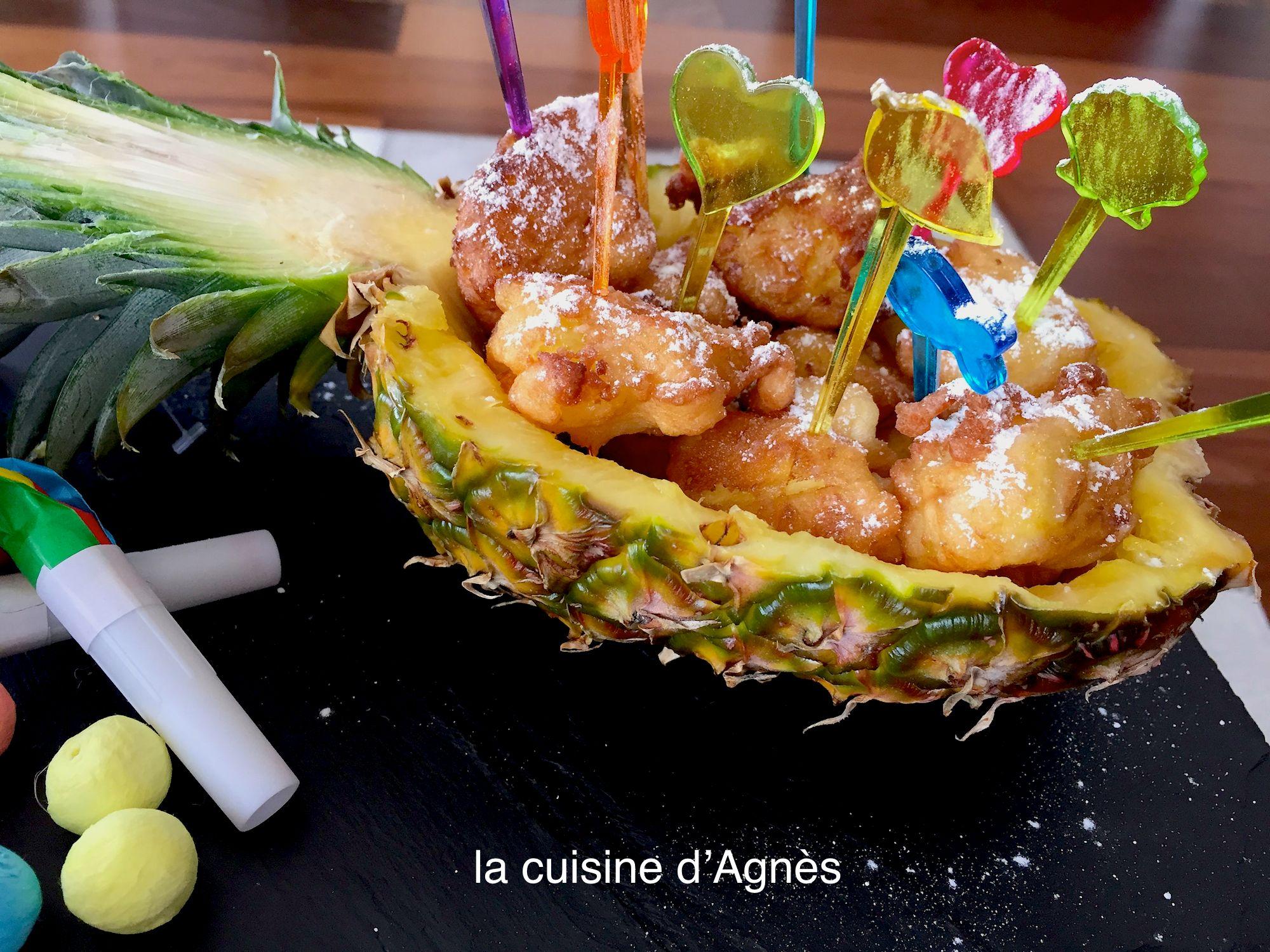 beignets à l'ananas 4