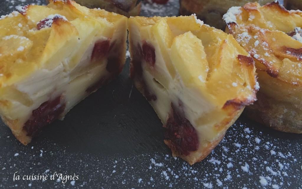 clafoutis aux cranberries 3