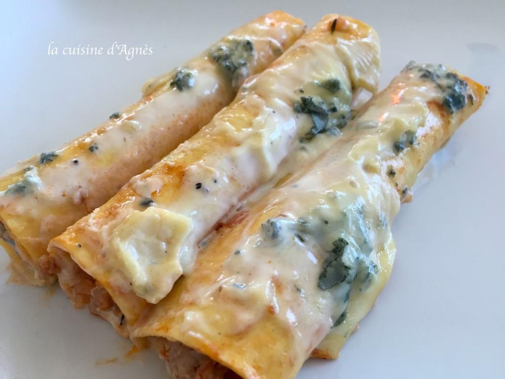cannellonis au bleu de Bresse 2