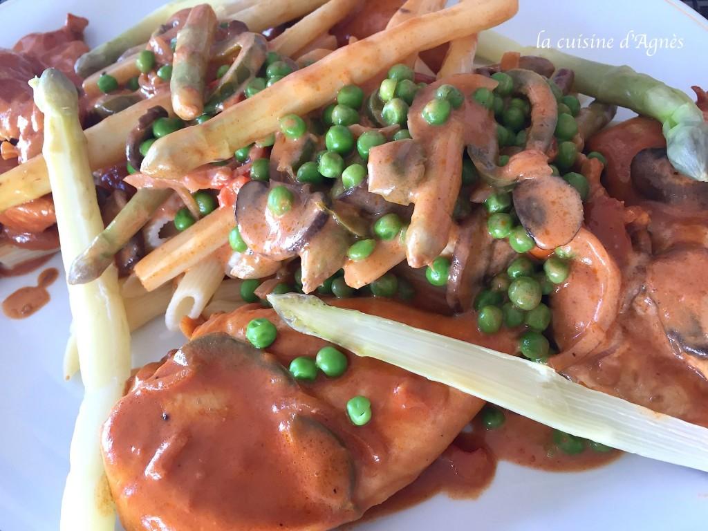 poêlée de légumes et volaille 4