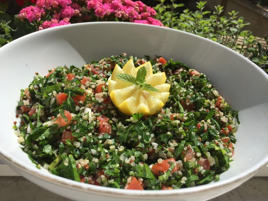 Tabbouleh au quinoa blogs de cuisine for Cuisine quinoa