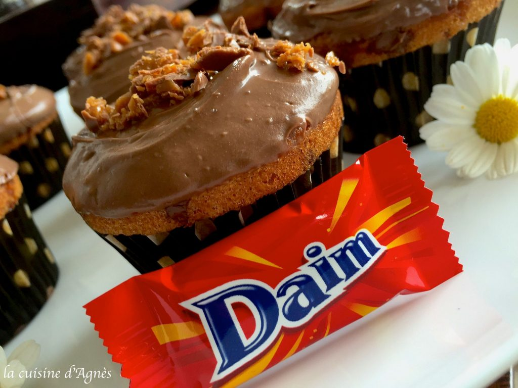 cupcakes au Daim 2