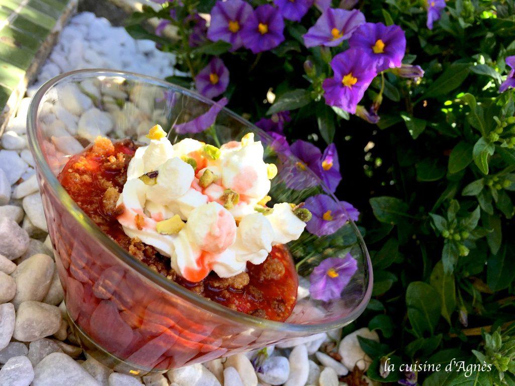 pôelée de fraises croustillantes