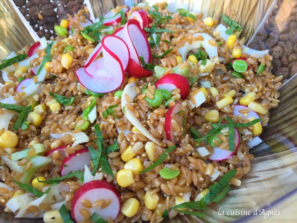 salade d'épeautre à la villageoise 5