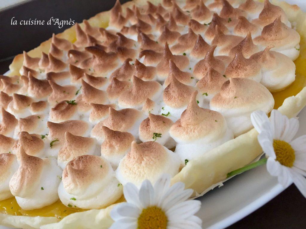 tarte au citron méringuée 2