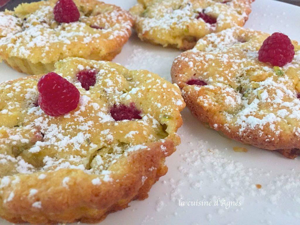 gâteaux aux prunes et aux framboises 2