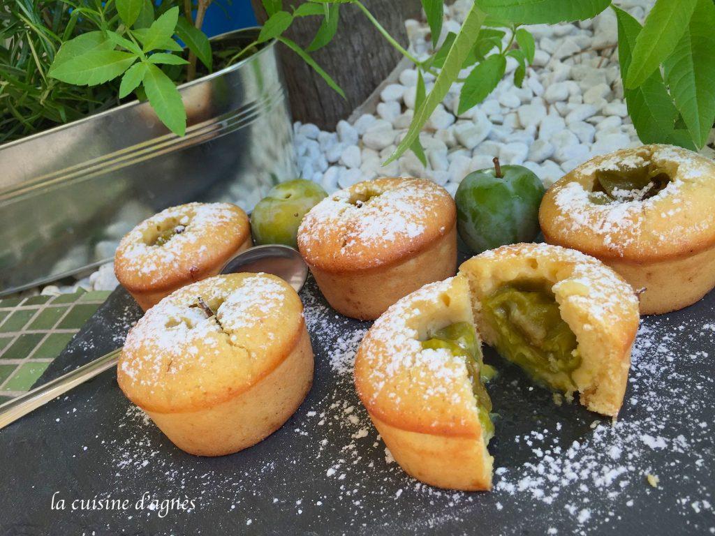 muffin au coeur reine claude 2