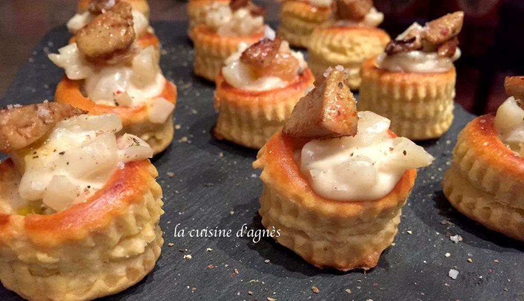 bouch es de topinambours au foie gras la cuisine d 39 agn sla cuisine d 39 agn s. Black Bedroom Furniture Sets. Home Design Ideas