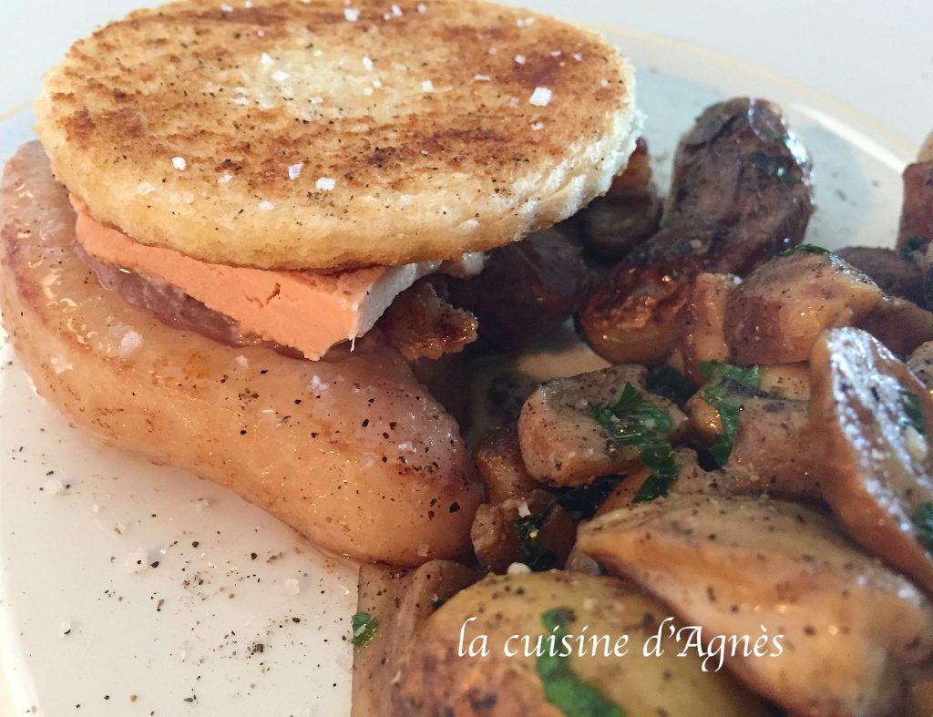 Tournedos de magret de canard fa on rossini la cuisine d 39 agn sla cuisine d 39 agn s - Magret de canard poele ...
