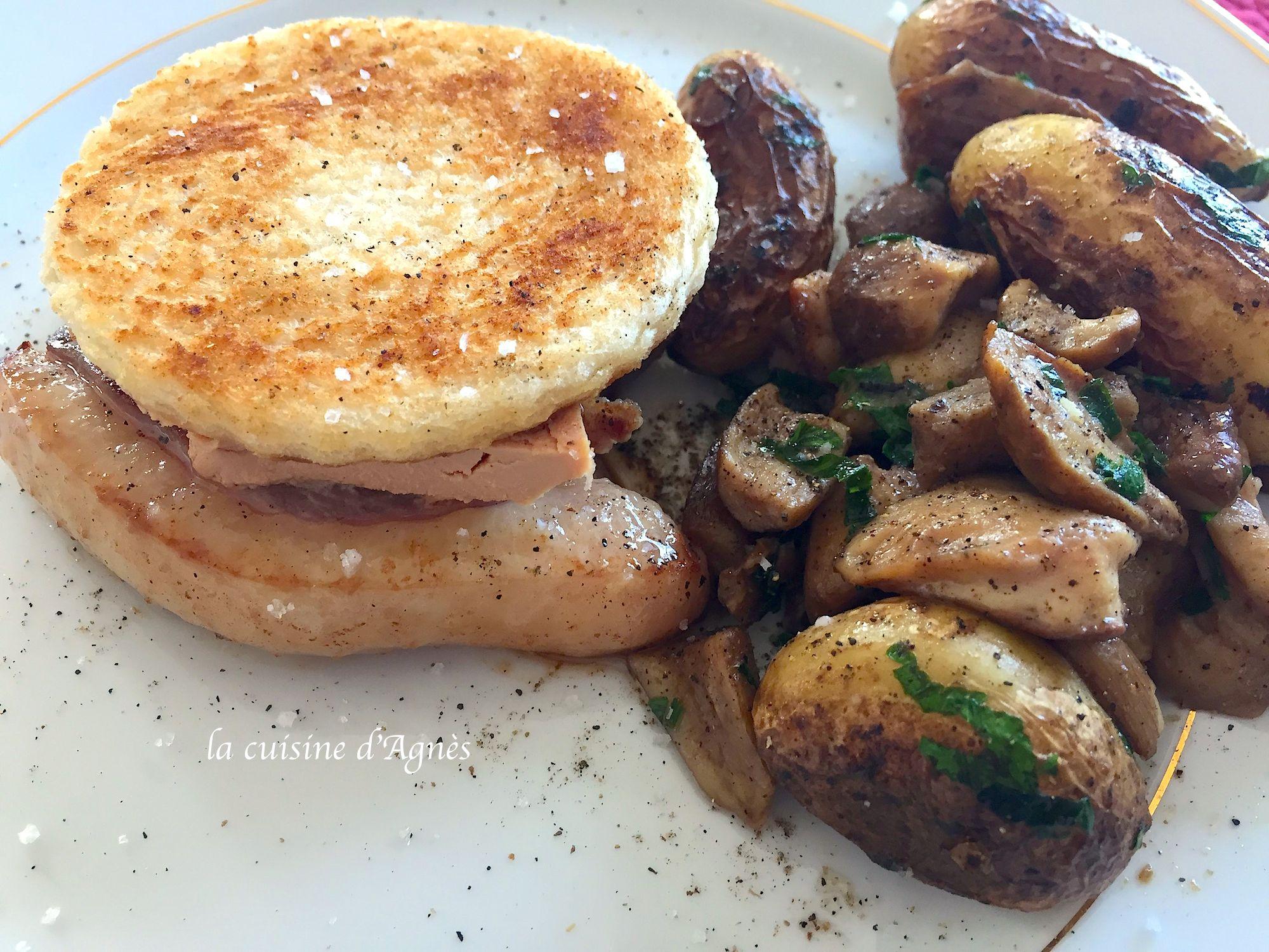 Tournedos de magret de canard fa on rossini la cuisine d 39 agn sla cuisine d 39 agn s - Cuisson du magret de canard au four ...