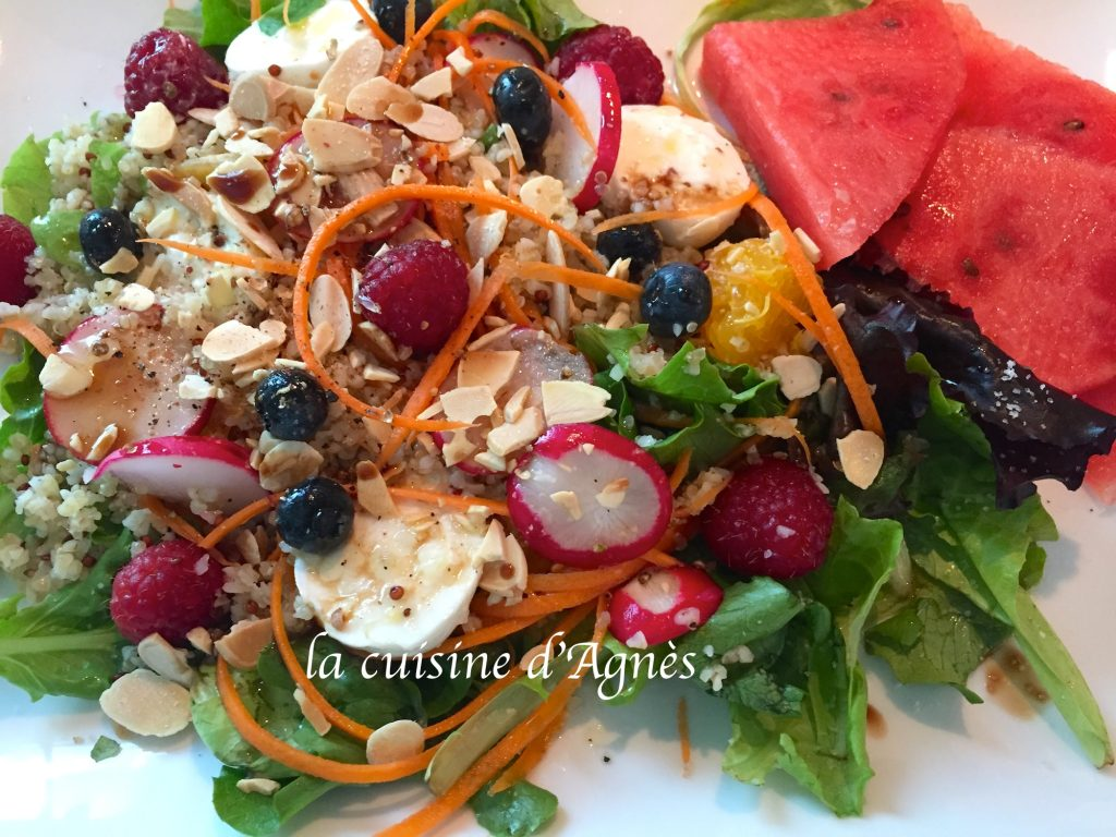Salade de quinoa aux fruits la cuisine d 39 agn sla cuisine for Aux beaux rivages la cuisine