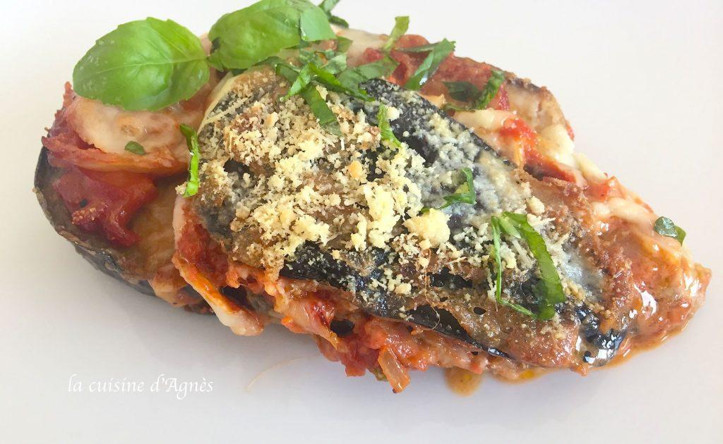 aubergines la parmigiana la cuisine d 39 agn sla cuisine d 39 agn s. Black Bedroom Furniture Sets. Home Design Ideas