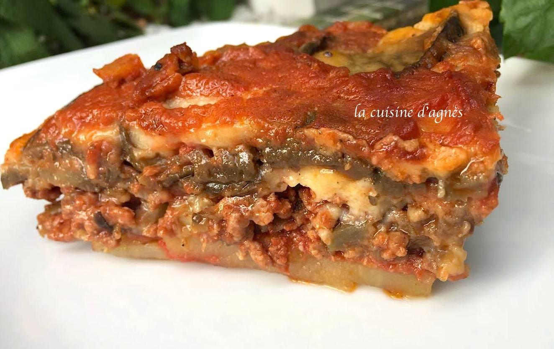 Moussaka revisit e blogs de cuisine - Cuisine grecque traditionnelle ...