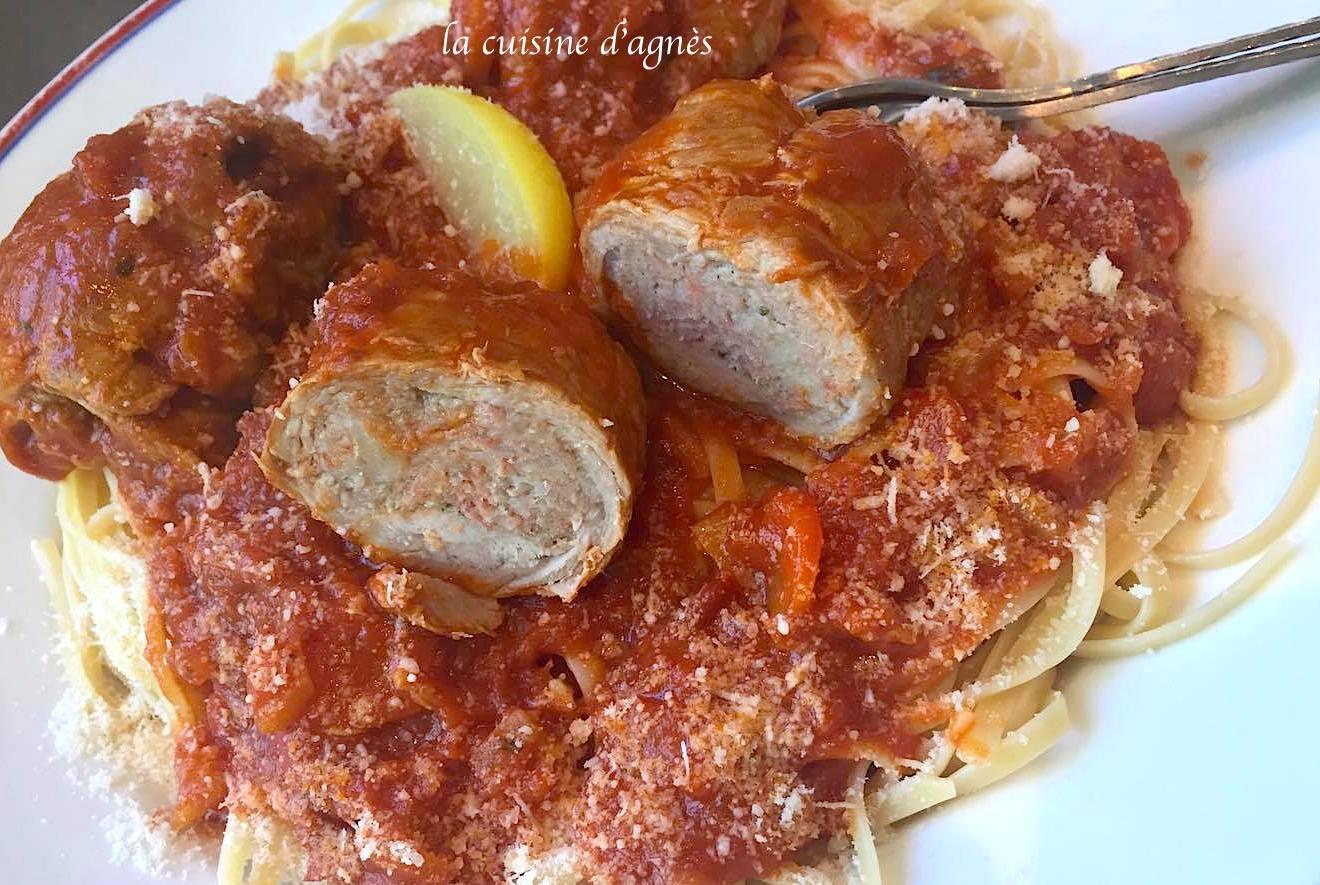 Paupiette de veau aux tomates et citron confit blogs de - Cuisine paupiette de veau ...