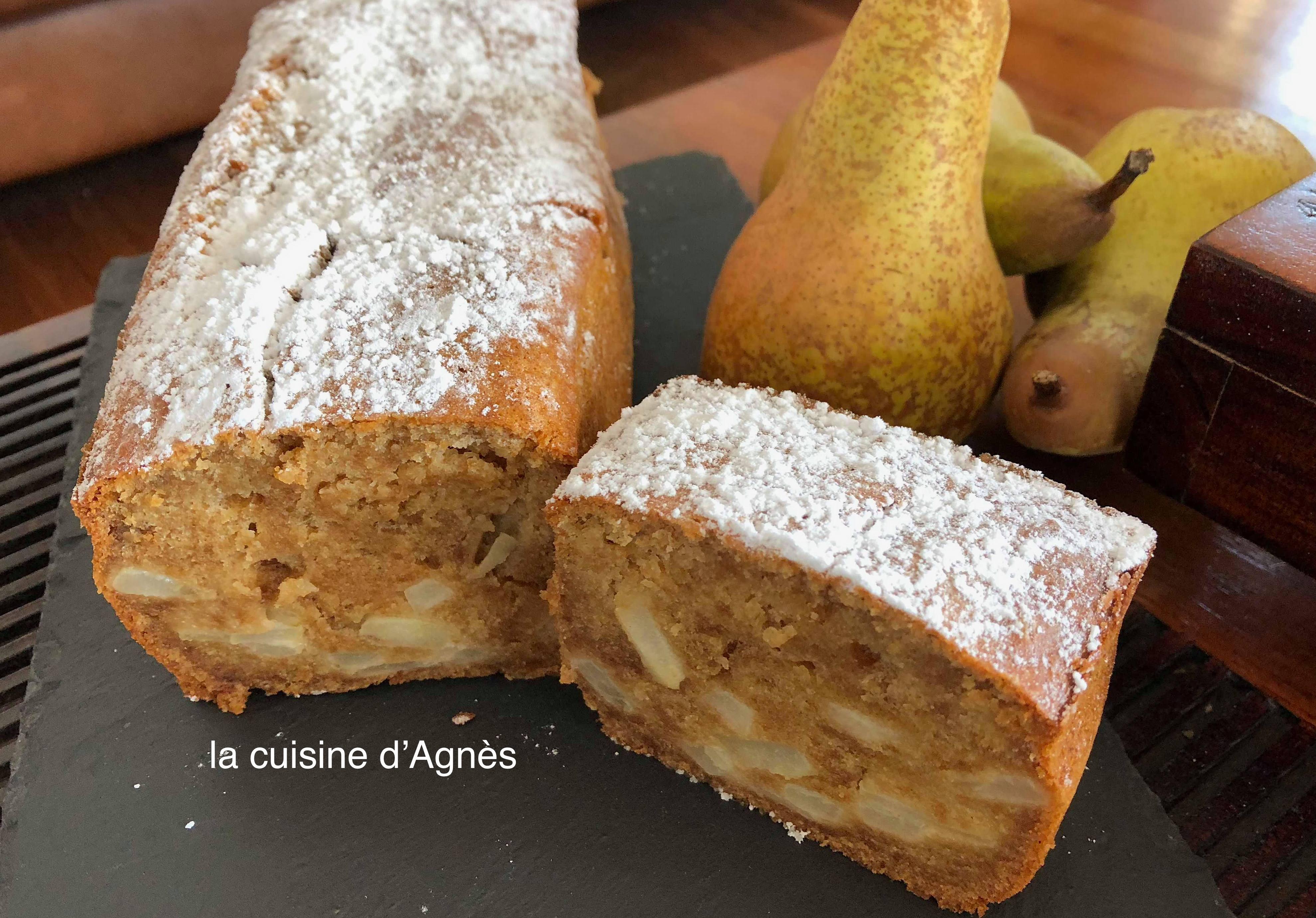Cake aux sp culoos et aux poires la cuisine d 39 agn sla for Aux beaux rivages la cuisine